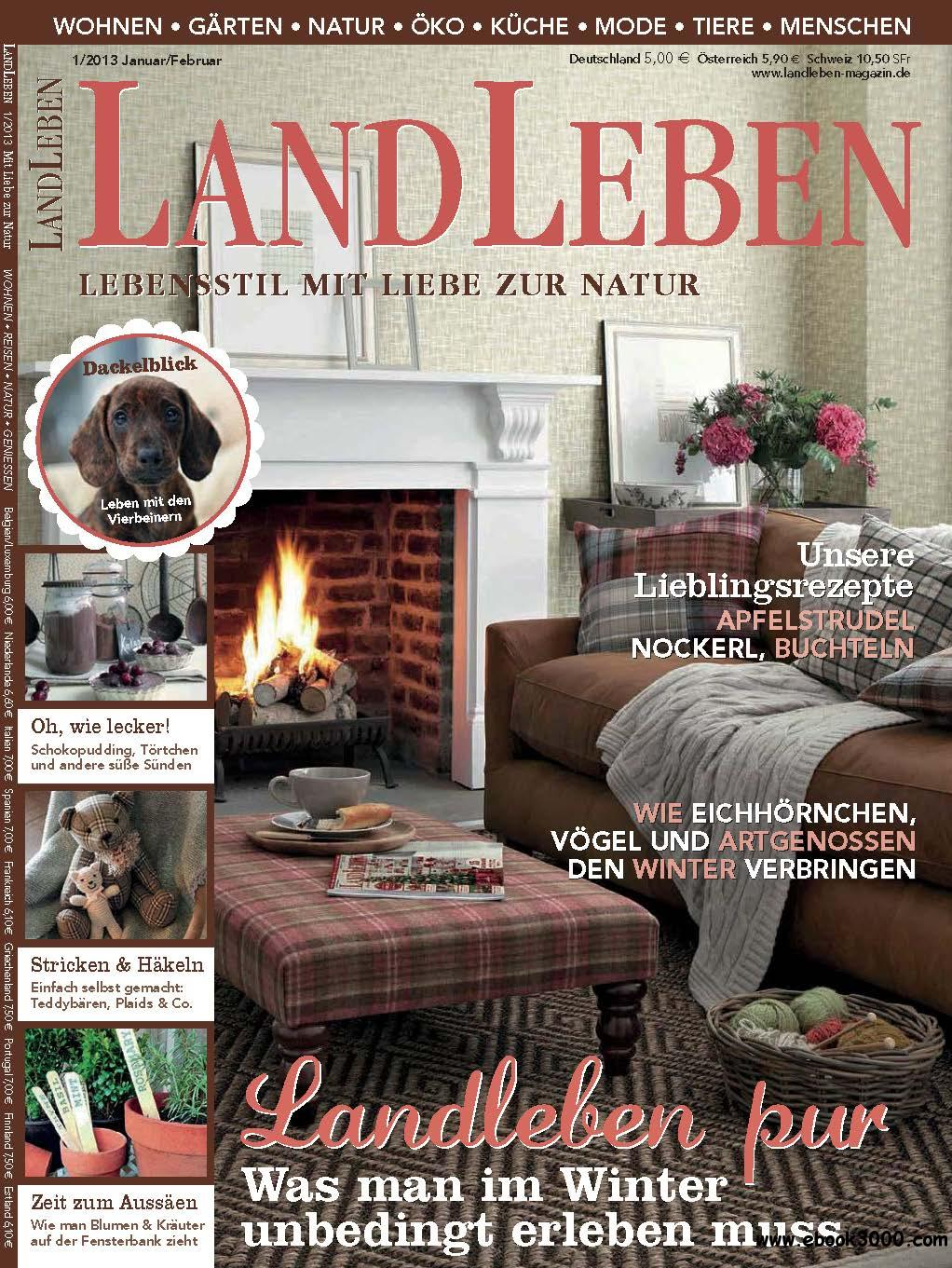 Landleben Januar/Februar 01/2013 free download