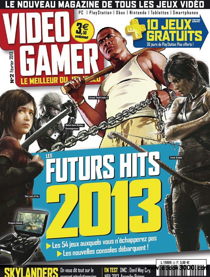 Video Gamer 2 - Fevrier 2013 free download