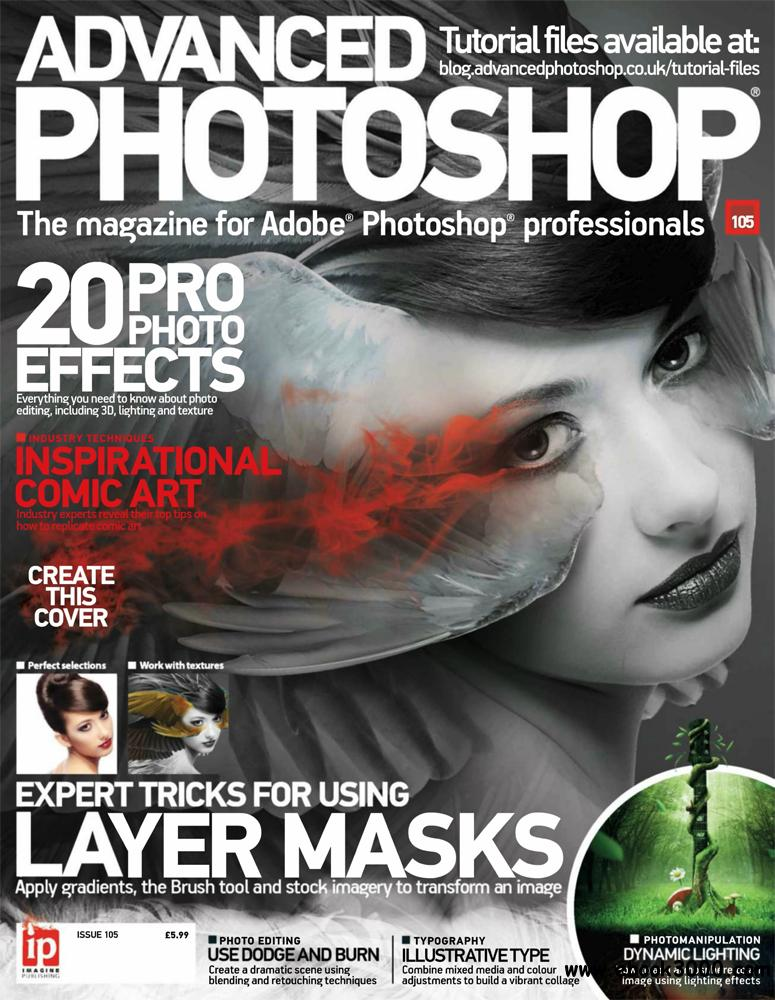 Advanced Photoshop Issue 105 2013 (UK) free download