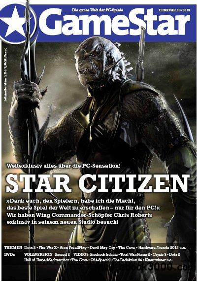 Gamestar Magazin Februar No 03 2013 free download