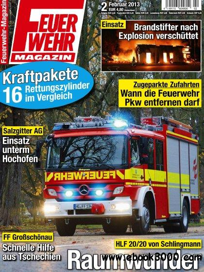 Feuerwehr Magazin Februar No 02 2013 free download