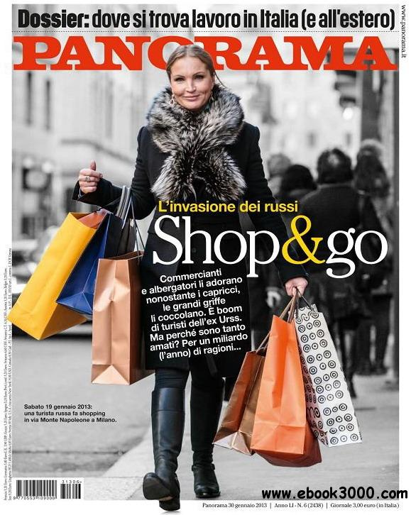 Panorama Italia No.6 - 30 Gennaio 2013 free download