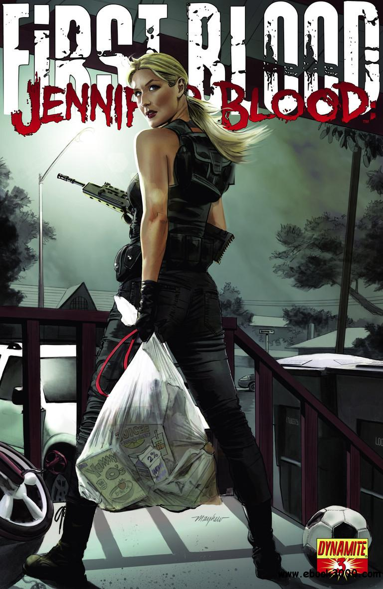 Jennifer Blood - First Blood 003 (2013) free download