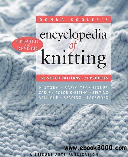 Donna Kooler's Encyclopedia of Knitting free download