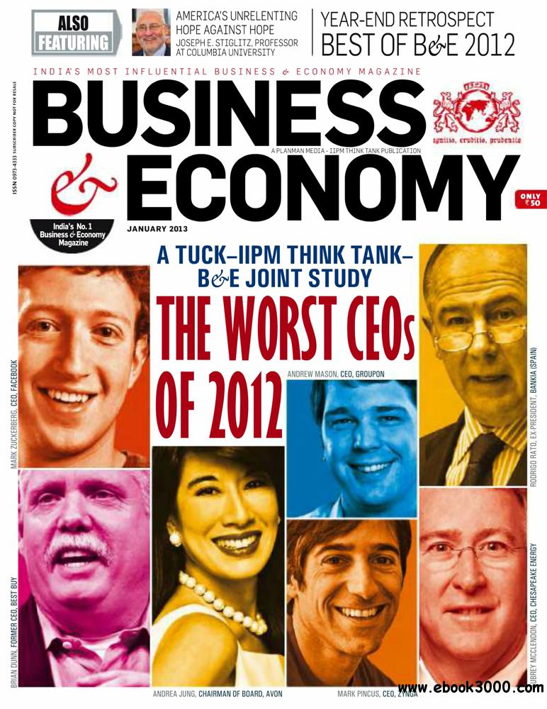 Business & Economy January 2013 (India) free download