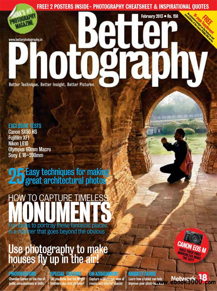 Better Photography February 2013 (India) free download