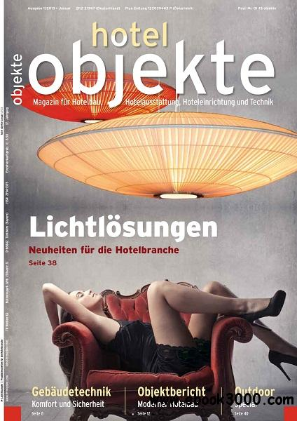 Hotel Objekte - Januar 2013 free download