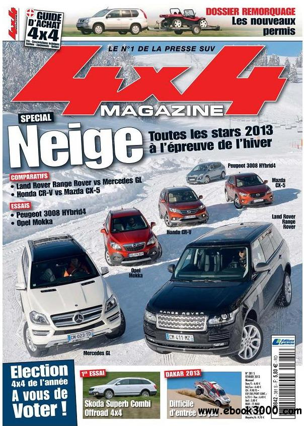4x4 Magazine No.381 - Fevrier 2013 / France free download