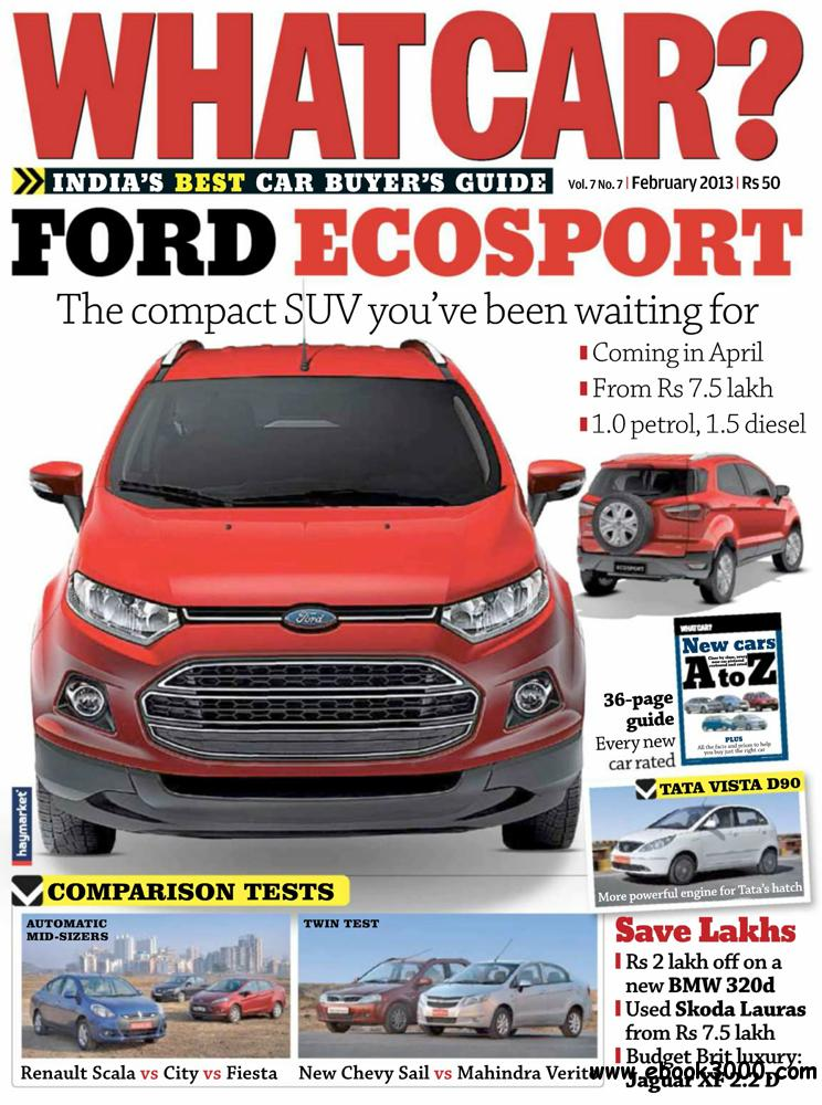 What Car? February 2013 (India) free download