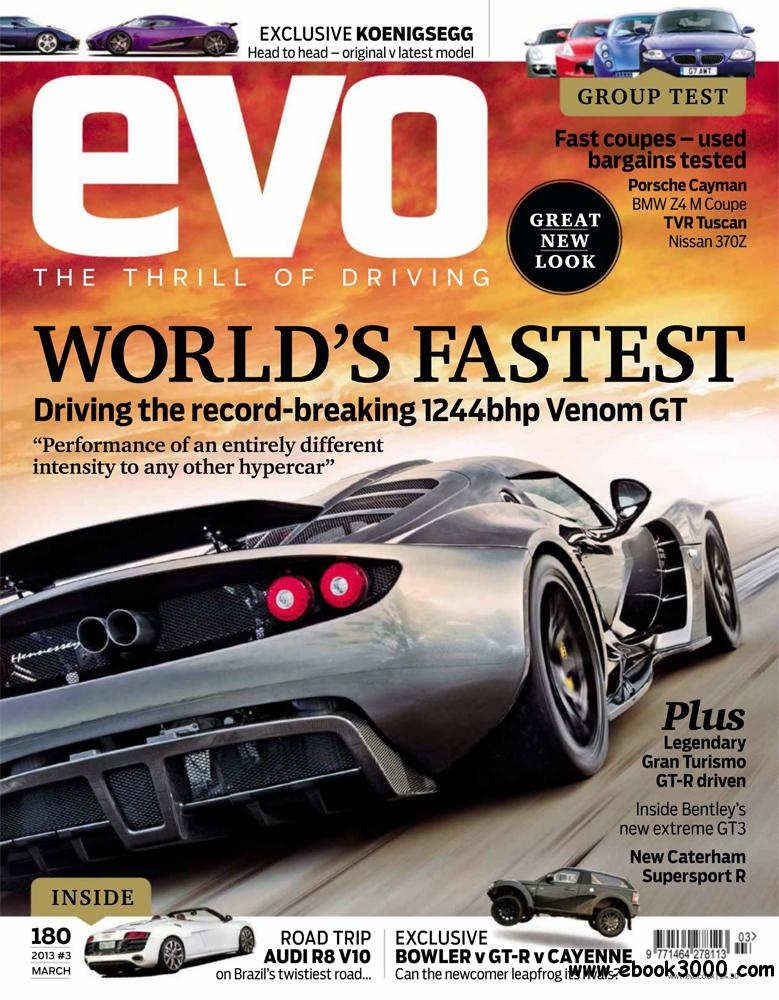 Evo March 2013 (UK) free download