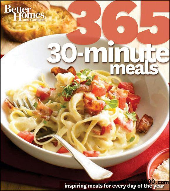 Better Homes & Gardens 365 30-Minute Meals free download
