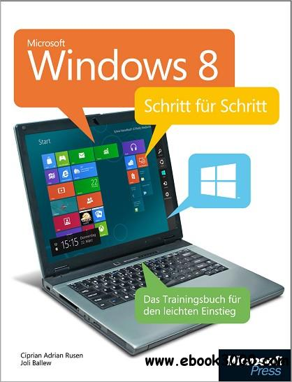 Microsoft Windows 8 - Schritt fur Schritt free download