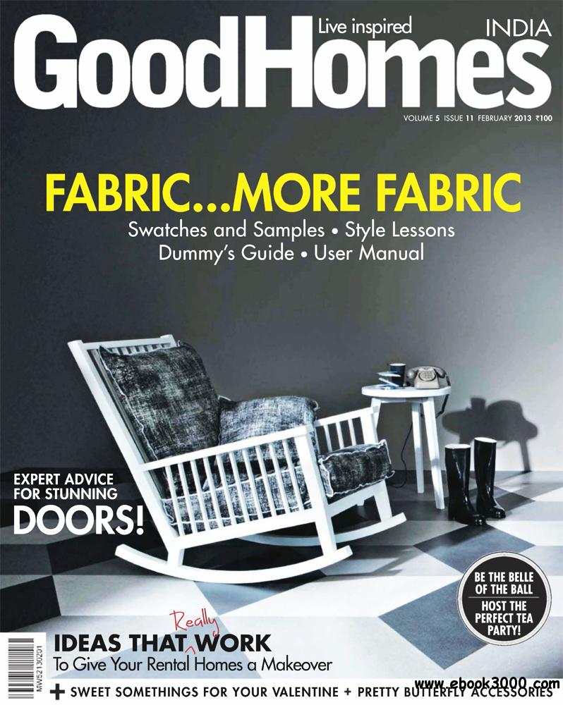 GoodHomes February 2013 (India) free download