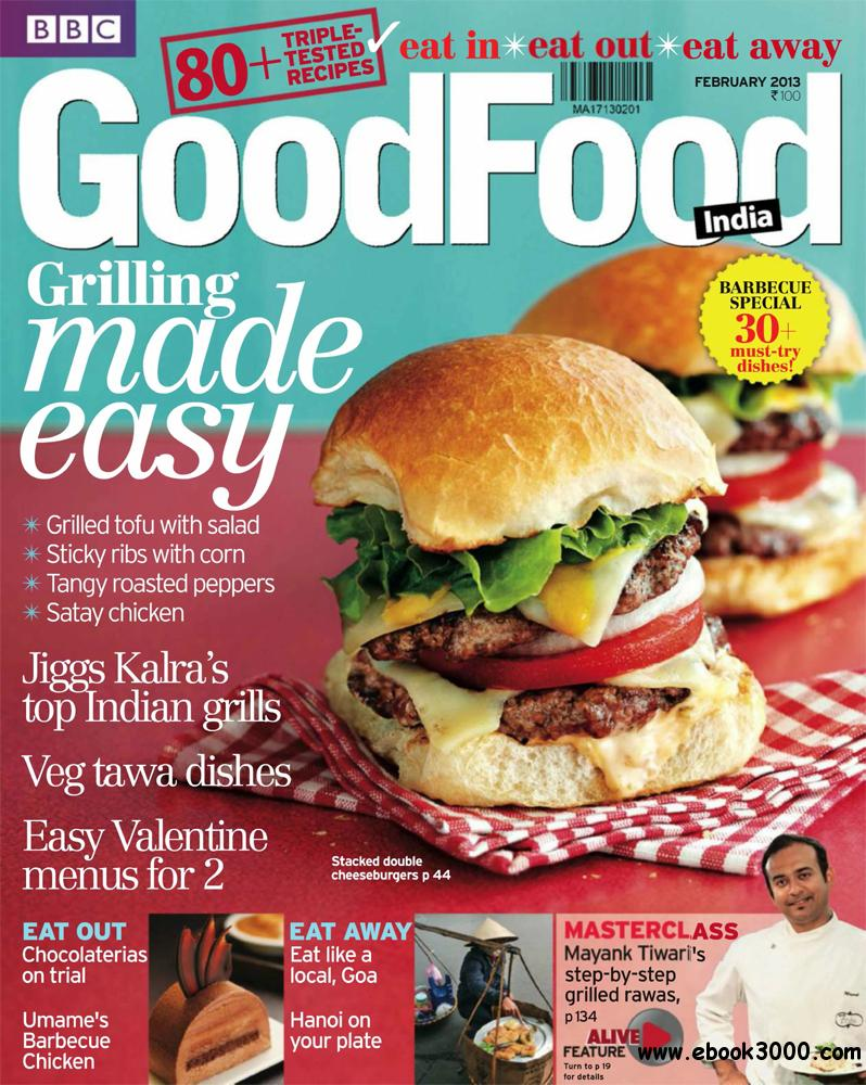 BBC GoodFood February 2013 (India) free download