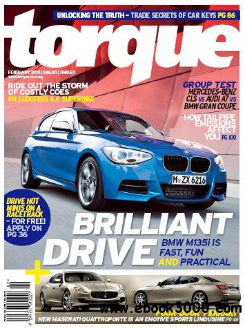 Torque Singapore - February 2013 (True PDF) free download