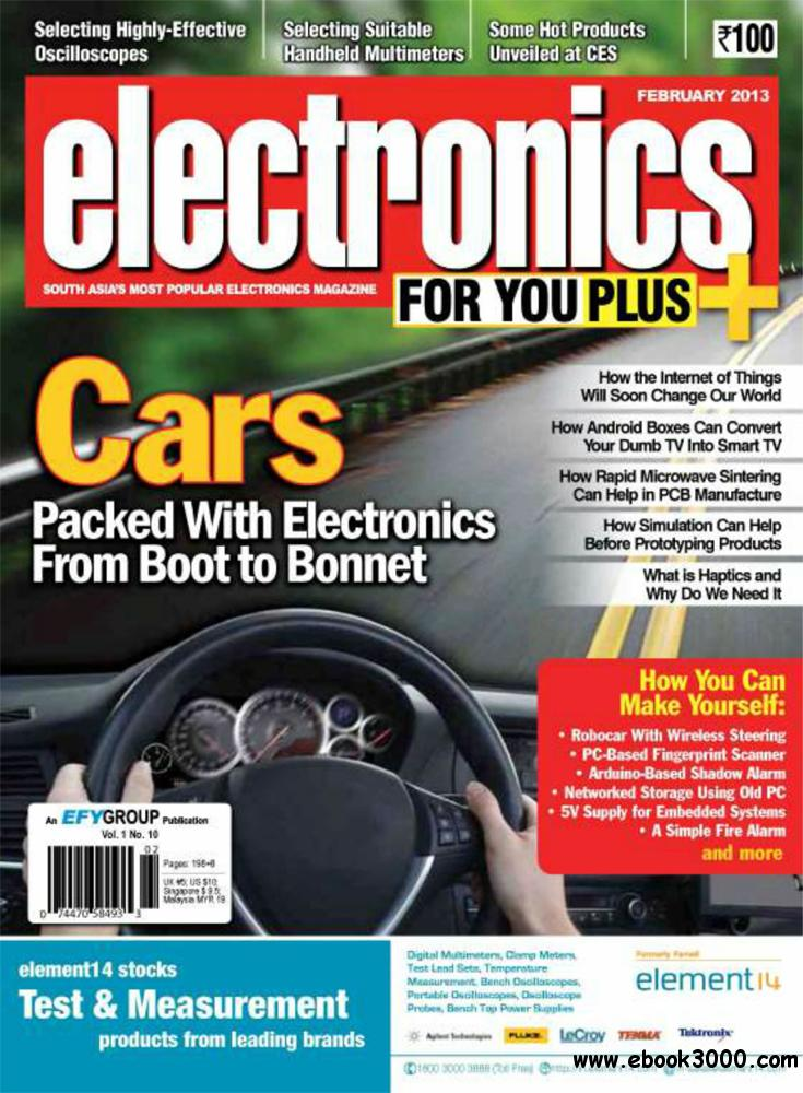 Electronics For You February 2013 (South Asia) free download