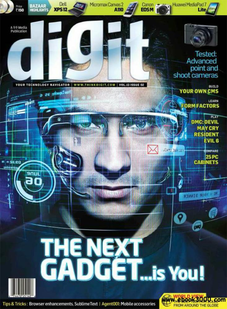 Digit February 2013 (India) free download