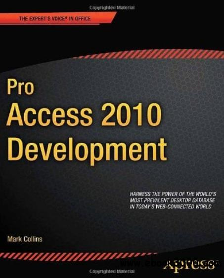 Pro Access 2010 Development free download