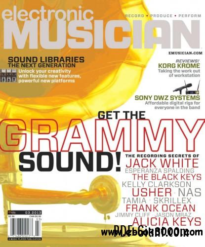 Electronic Musician - March 2013 free download