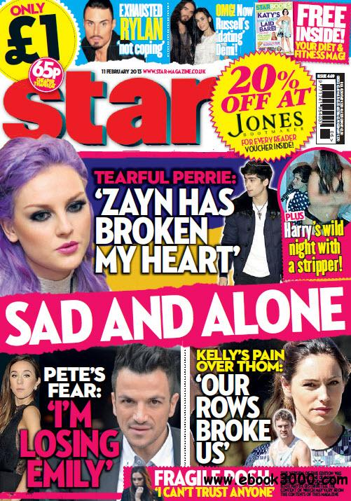 Star Magazine UK, Issue 469 - 11 February 2013 free download