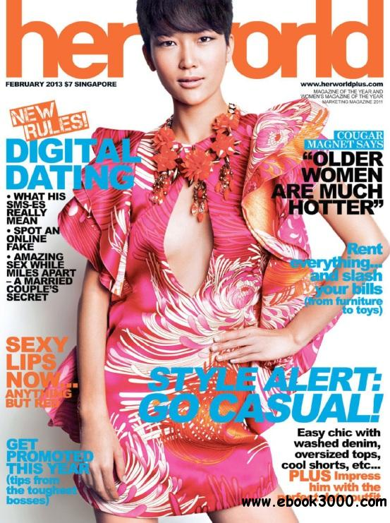Her World Singapore - February 2013 free download
