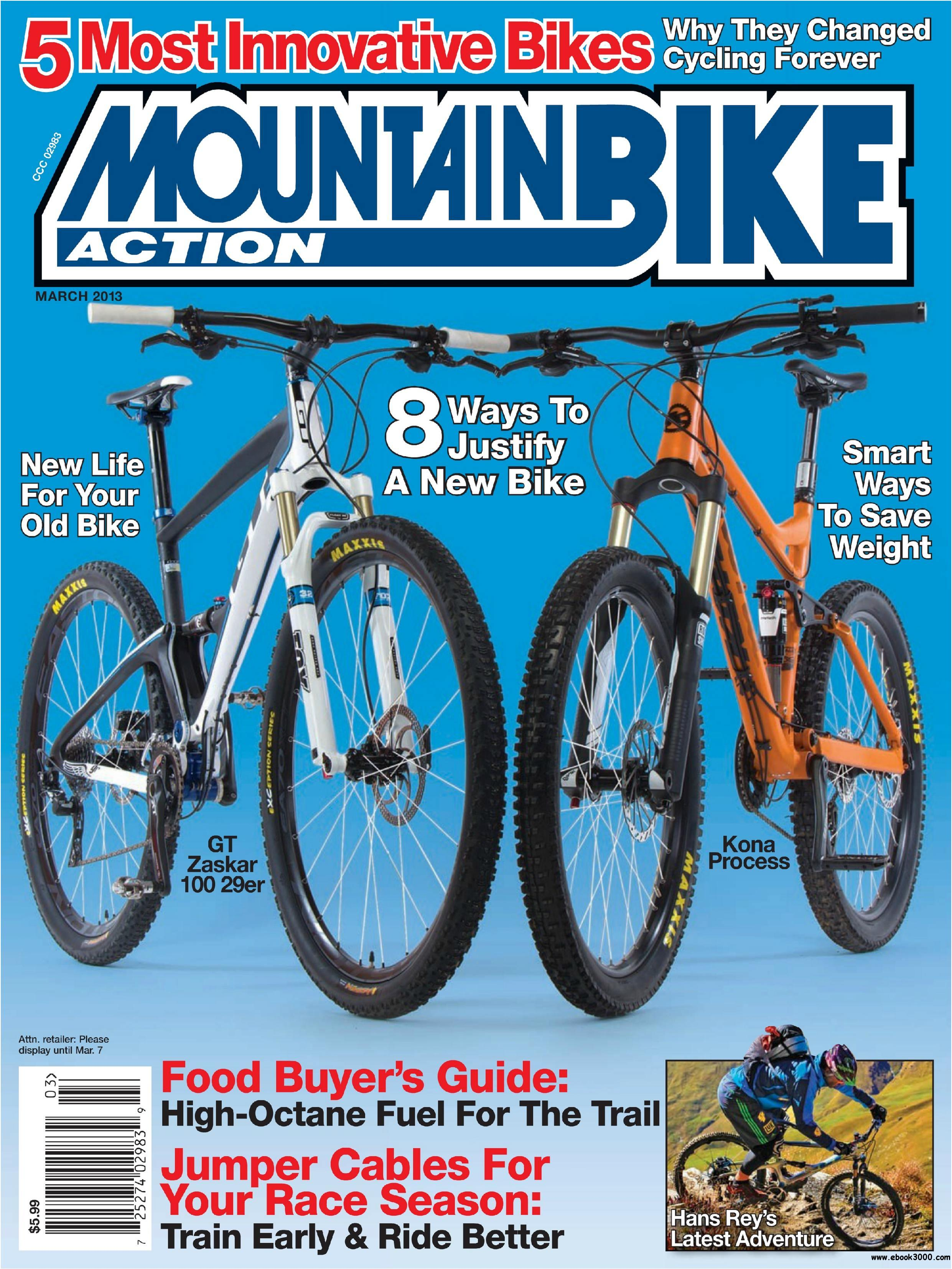 Mountain Bike Action - March 2013 free download