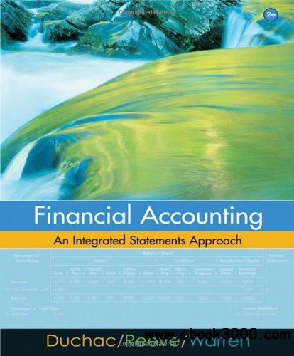Financial Accounting: An Integrated Statements Approach, 2 edition free download
