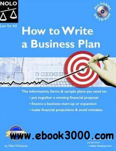 How To Write A Business Plan, 7 Edition free download