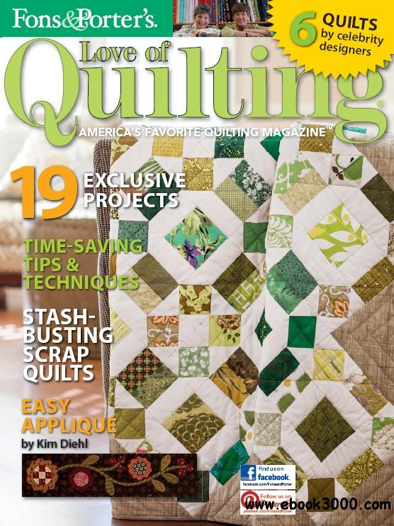 Love of Quilting - March/April 2013 free download