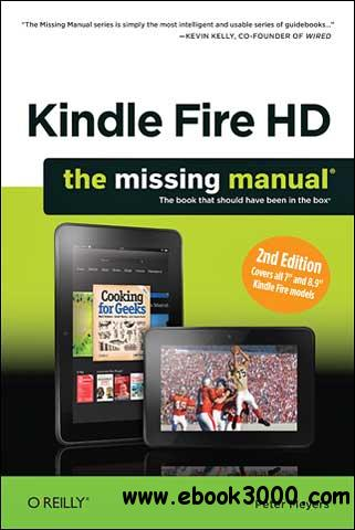 Kindle Fire HD: The Missing Manual, 2 Edition free download