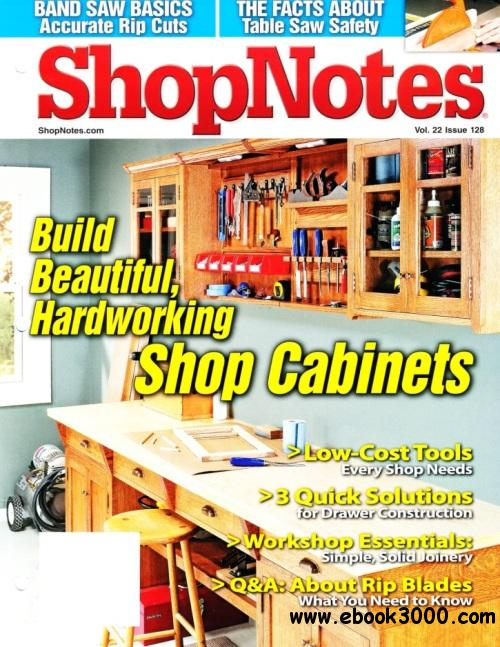 ShopNotes Issue #128 free download