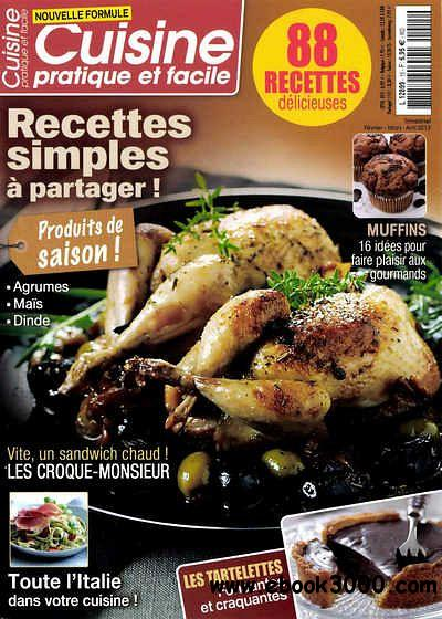 Cuisine Pratique et Facile N 15 - Fevr-Mars-Avril 2013 free download