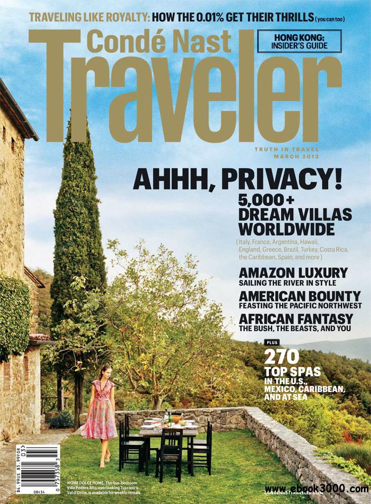 Conde Nast Traveller - March 2013 free download