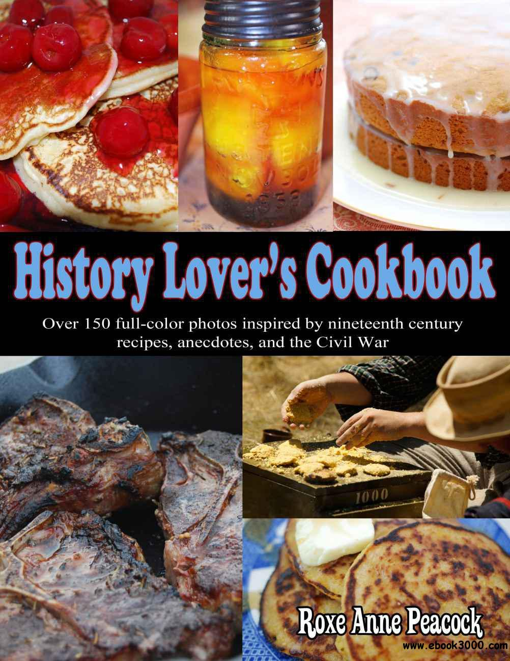 History Lover's Cookbook free download