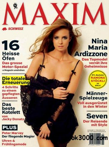 Maxim Schweiz - Februar/Marz 2013 free download
