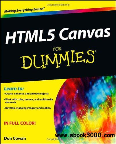 HTML5 Canvas For Dummies free download