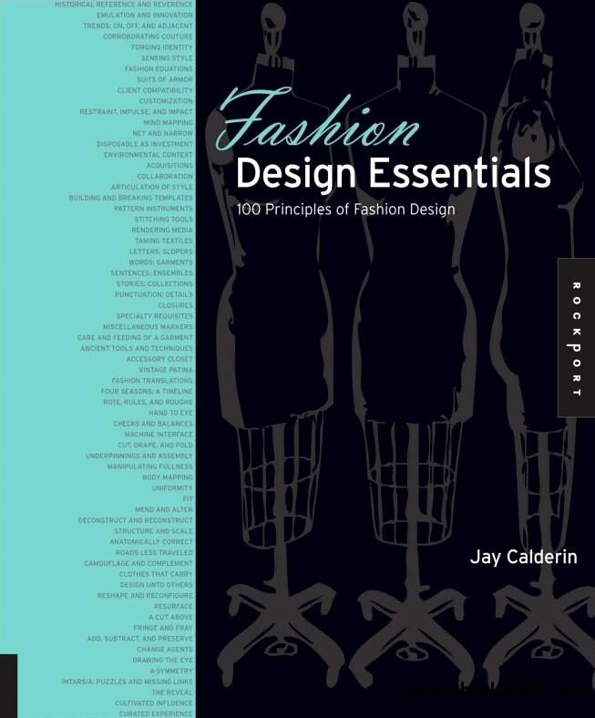 Fashion Design Essentials: 100 Principles of Fashion Design free download
