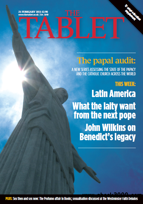 The Tablet - 23 February, 2013 free download