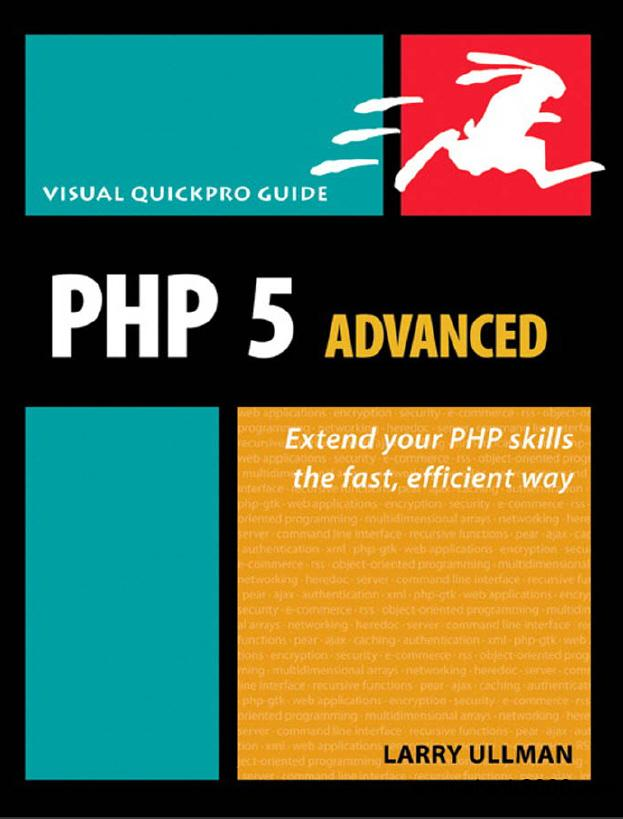 PHP 5 advanced. Visual quickpro guide free download