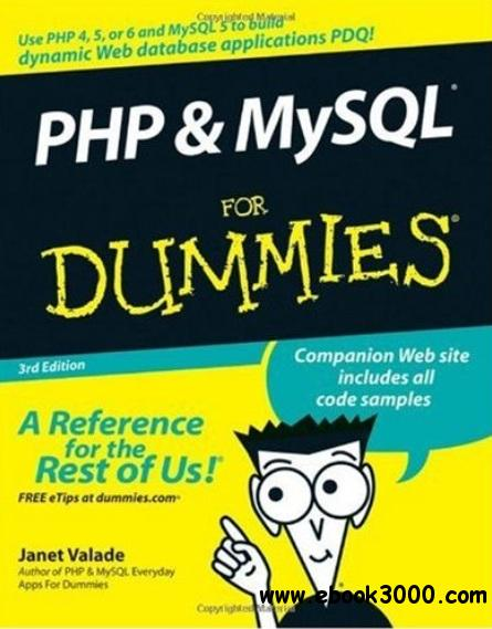 PHP & MySQL for dummies free download