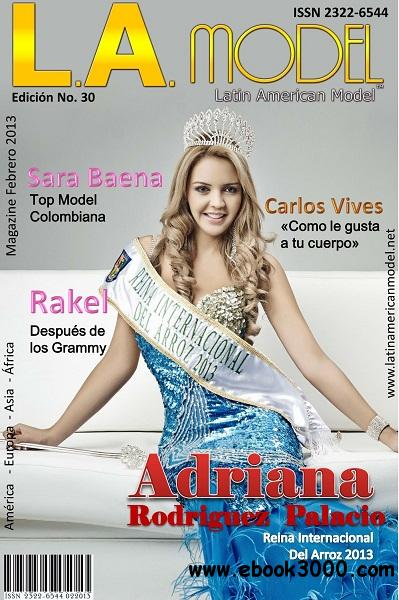 Latin American Model - Febrero 2013 free download
