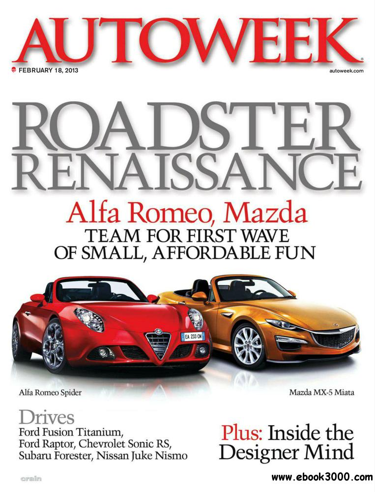 Autoweek 18 February 2013 (USA) free download