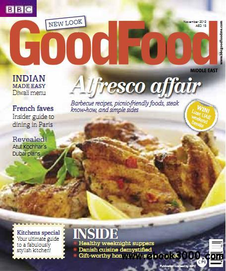 BBC Good Food Middle East - November 2012 free download