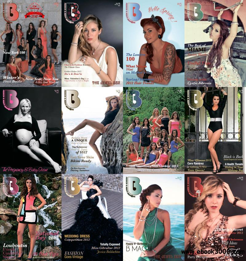 B Magazine 2012 Full Year Collection free download