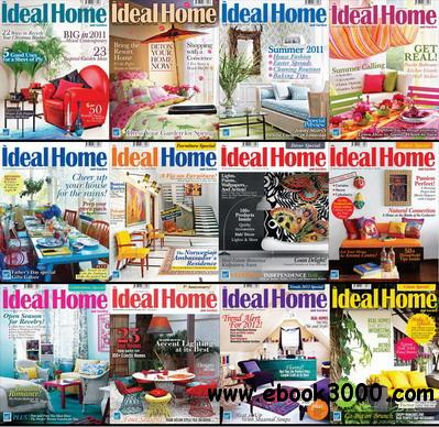 The Ideal Home and Garden Magazine 2011 Full Collection free download