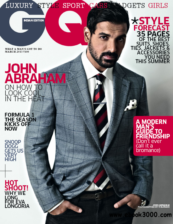 GQ India - March 2013 free download