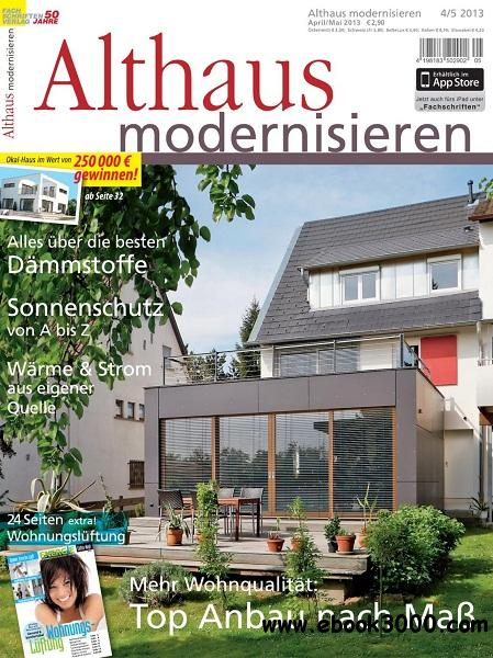 Althaus Modernisieren - April/Mai 2013 free download