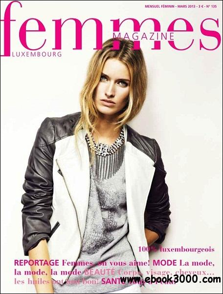 Femmes - Mars 2013 free download