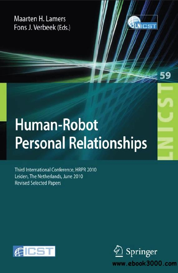 Human-Robot Personal Relationships free download