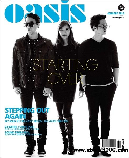 Oasis - January 2013 free download